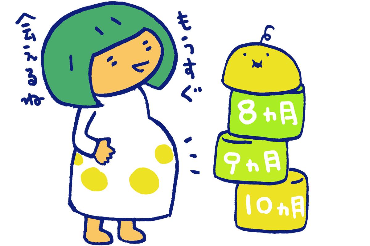 【医師監修】妊娠後期(妊娠8ヶ月・9ヶ月・10ヶ月)