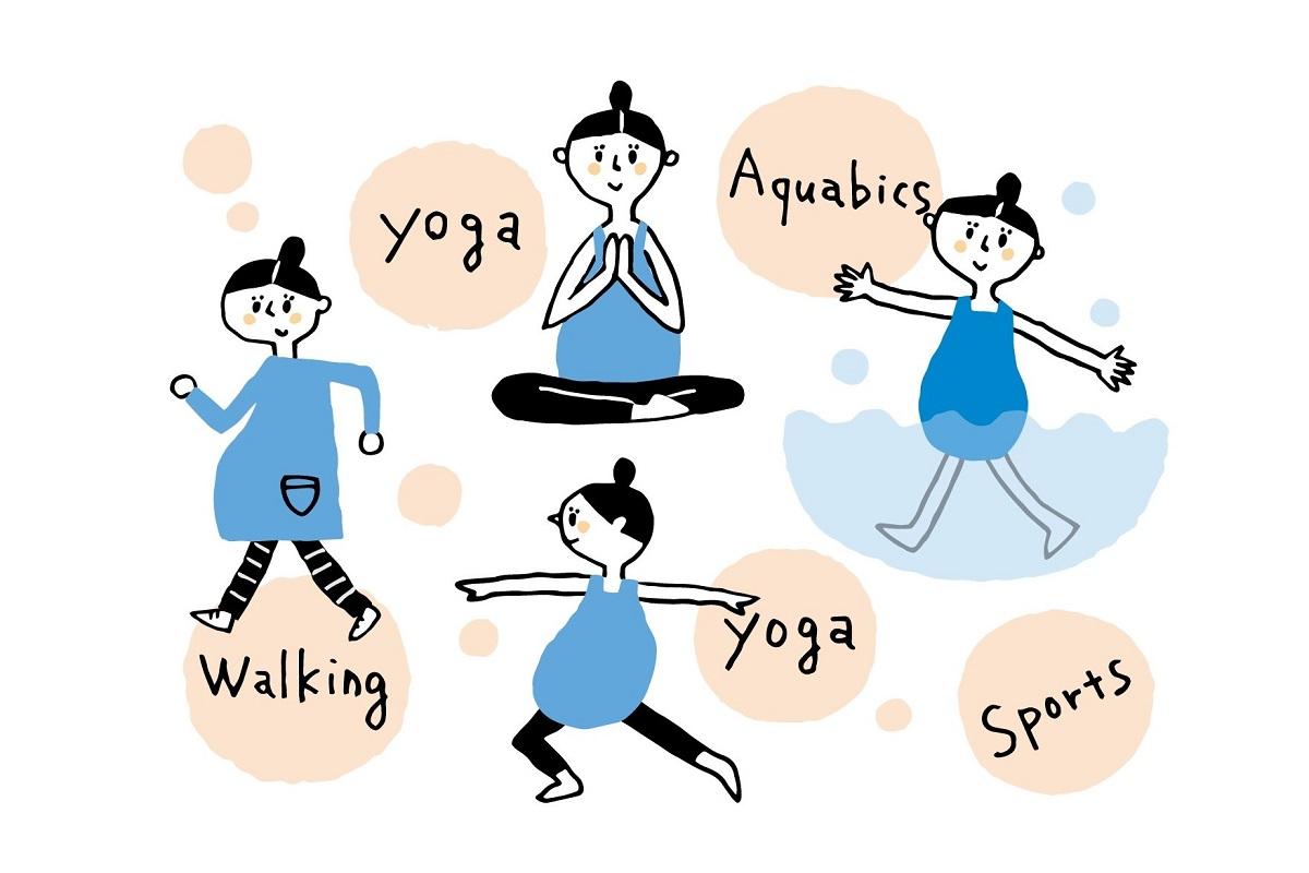 【医師監修】妊娠しても続けて良い運動、控えたほうが良い運動